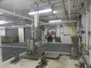 Modular Flammable Ingredients Process Area